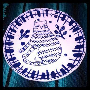 Cat decorative plate